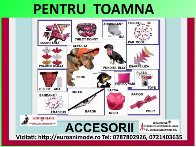 Accesorii pentru animale de companie