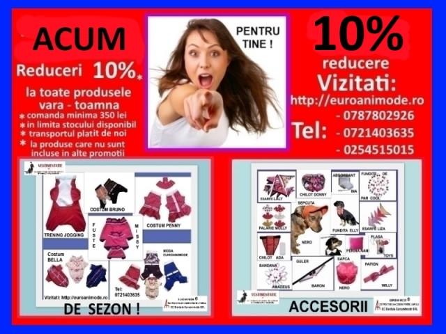 OFERTELE PENTRU VARA ! REDUCERI 10%