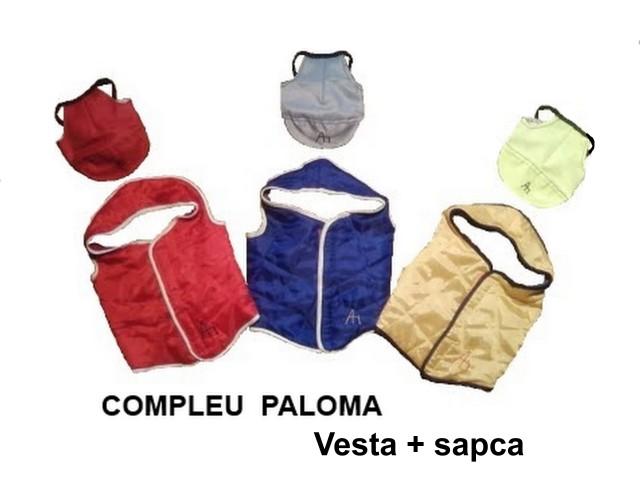 Compleu PALOMA vesta + sapca