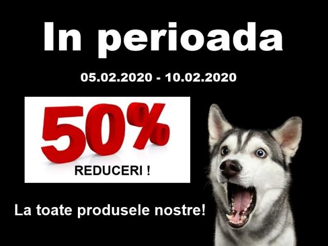 Reduceri 50% !