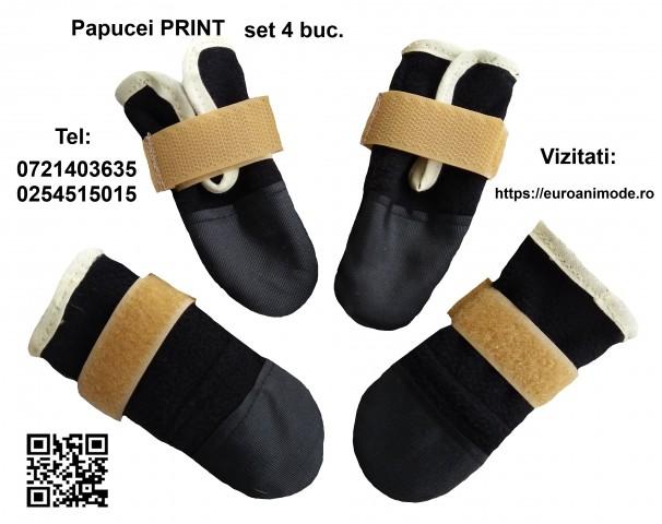 Papucei  PRINTI set 4 buc..
